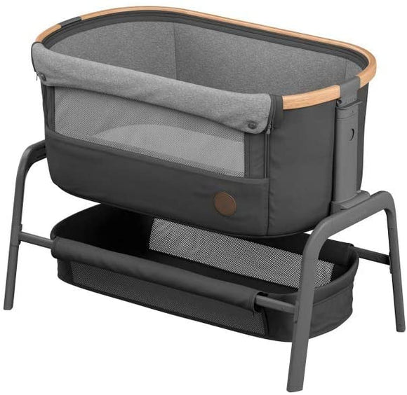 Maxi Cosi Iora Crib in Essential Graphite