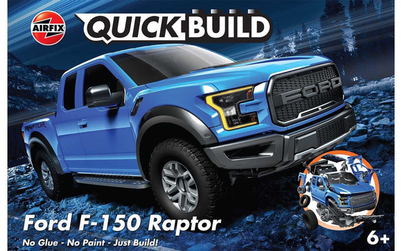 AIRFIX J6037  QUICK BUILD FORD F-150 RAPTOR