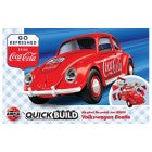 AIRFIX J6048  QUICK BUILD VOLKSWAGEN BEETLE COCA COLA