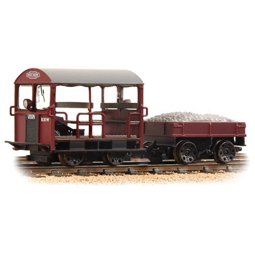 Bachmann Locomotive 32-991 Wickham Trolley Car BR Maroon