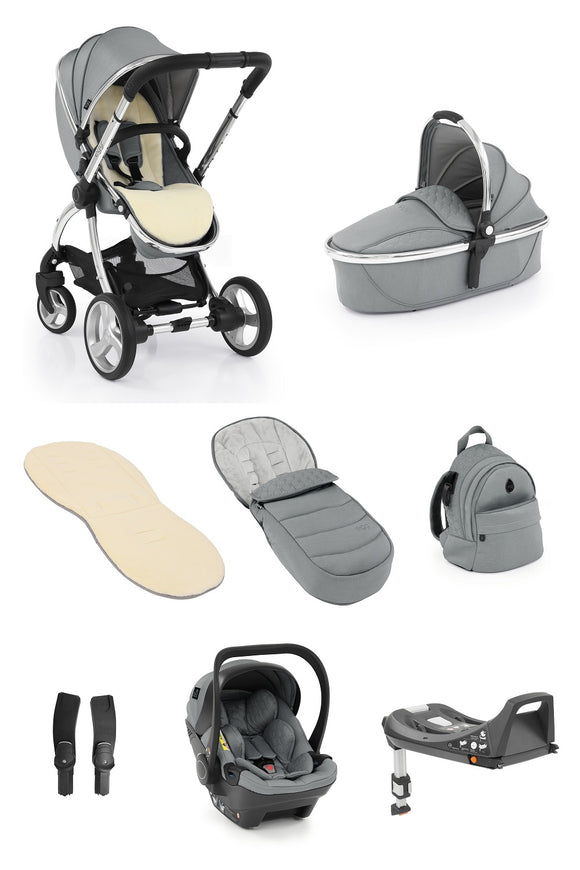 Egg 2 Travel System Bundle in Monument Grey