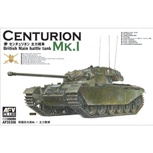 AFV CLUB AF35308 CENTURION MK.1 BRITISH MAIN BATTLE TANK 1/35 SCALE