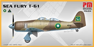 PM MODELS PM-214  SEA FURY  T-61  1/72 SCALE