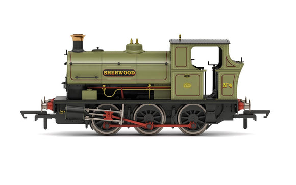 Hornby R3693 Sherwood Colliery Co. Ltd, Peckett B2 Class, 0-6-0ST, No.4 'Sherwood' - Era 3