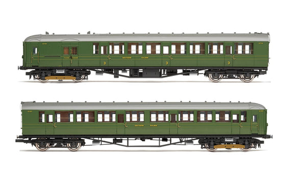 Hornby R3700 SR  2-BIL  Unit 2152; DMBT(L) No. 10718 and DTC(L) No. 12185 - Era 3