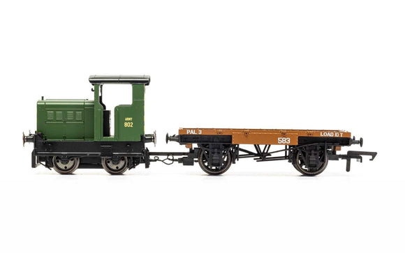 Hornby R3706 War Department, R&H 48DS, 0-4-0, 'Army 802' - Era 4/5