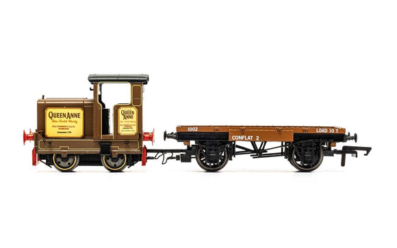 Hornby R3707 Longmorn Distillery, R&H 48DS, 0-4-0, 'Queen Anne' - Era 7