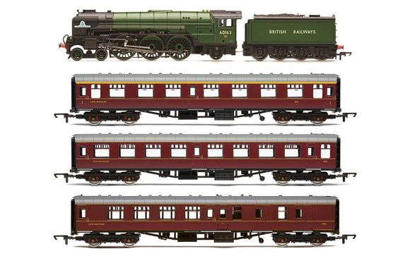 Hornby R3828 British Railways  60163 Tornado  The Aberdonian  Train Pack - Era 11