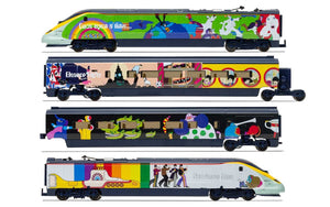 Hornby R3829 Eurostar  Class 373  Set 3005/3006  Yellow Submarine  Train Pack - Era 9