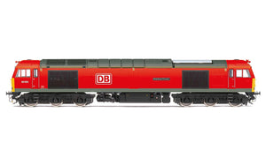 Hornby R3885 DB Cargo UK  Class 60  Co-Co  60062  Stainless Pioneer  - Era 11