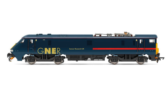 Hornby R3893 GNER  Class 91  Bo-Bo  91117  Cancer Research UK  - Era 10