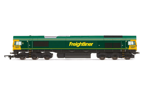 Hornby R3921 Freightliner  Class 66  Co-Co  66514 - Era 9