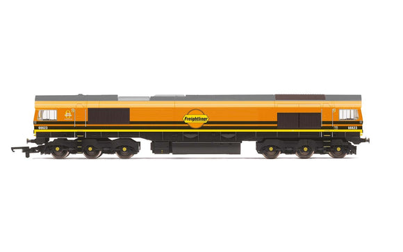 Hornby R3922 G&W/Freightliner  Class 66  Co-Co  66623 - Era 11