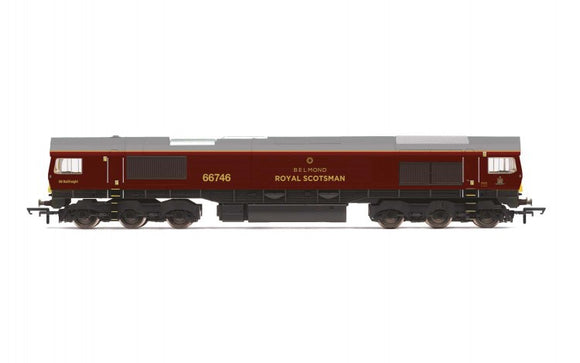 Hornby R3950A GBRf/Belmond Royal Scotsman  Class 66  Co-Co  66746 – Era 11