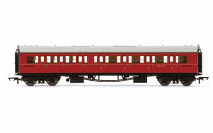 Hornby R4767 BR  Collett 'Bow-Ended' Corridor Composite (Right Hand)  W6137W - Era 5