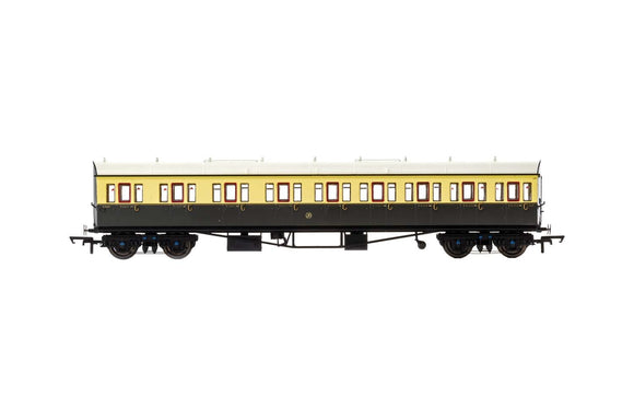 Hornby R4874A GWR  Collett 57' Bow Ended E131 Nine Compartment Composite (Left Hand)  6626 - Era 3