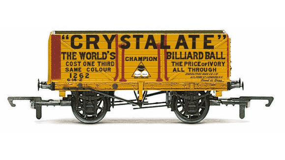Hornby R6810 7 Plank Wagon  Crystalate 1262 - Era 3
