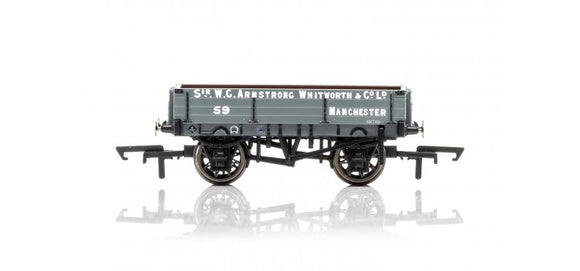 Hornby R6859 3 Plank Wagon, Armstrong Whitworth & Co. Ltd
