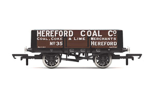 Hornby R6901 5 Plank Wagon  'Hereford Coal Company' No. 35 - Era 2