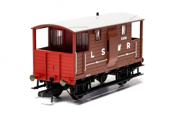 Hornby R6911A LSWR  20T 'New Van' Goods Brake Van  5359 - Era 2