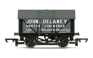 Hornby R6977 John Delaney  8T Lime Wagon  No. 130 - Era 2/3