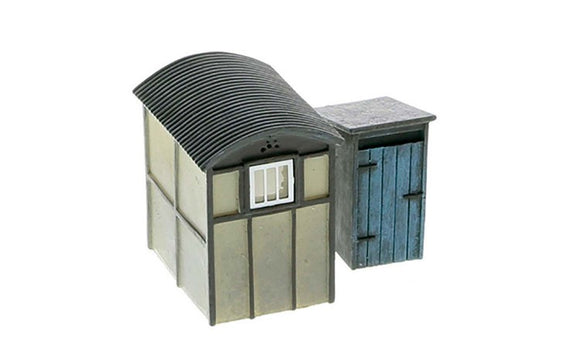 Hornby R9782 Utility Lamp Huts x2