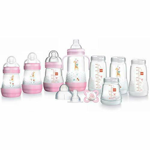 MAM Easy Start Bottle 0m+ Set - Pink