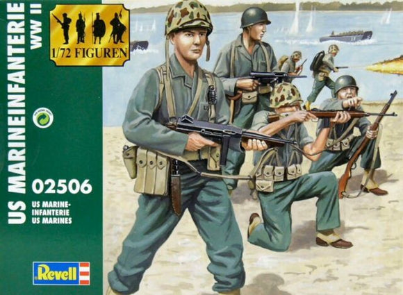 REVELL 02506 U.S MARINE INFANTRY WWII  1/72 SCALE