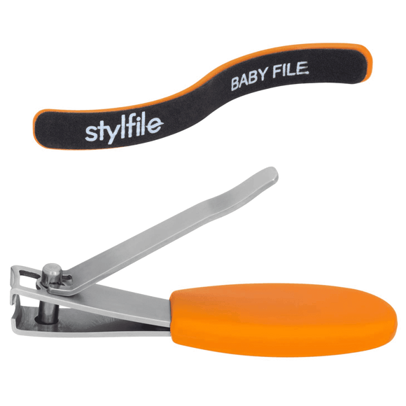 Stylife Nipper Clipper Baby Nail Clippers With Safety Spy Hole