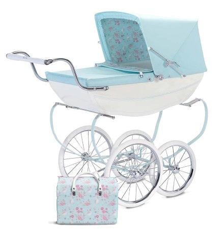 SILVER CROSS DOLLS PRAM OBERON IN SWEET PEA