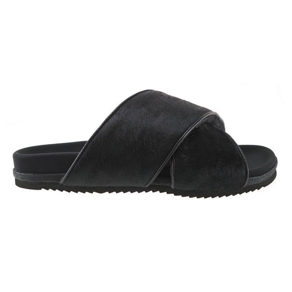 Load image into Gallery viewer, Roam Sandals - Black Cross Calf - Shop OHEY