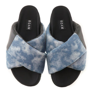Roam Sandals - Denim Patch - Pilates Plus La Jolla - shop OHEY