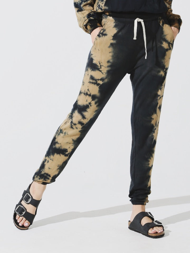 Electric & Rose - Rialto Sweatpant - Onyx/Honey