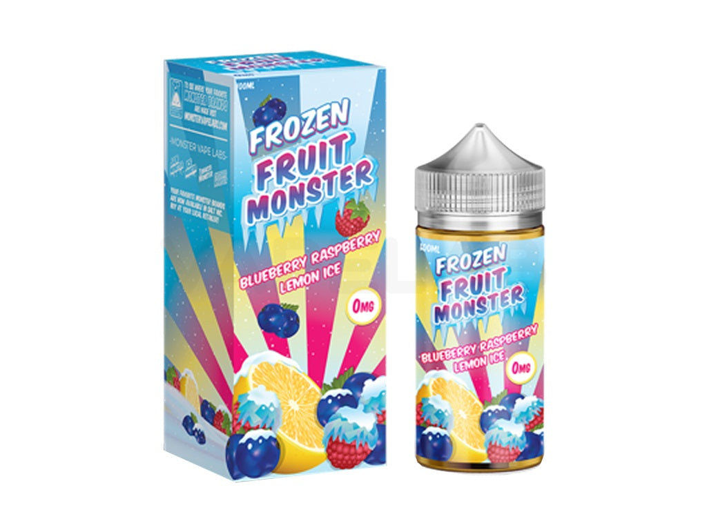 Frozen Fruit Monster - Blueberry Raspberry Lemon Ice