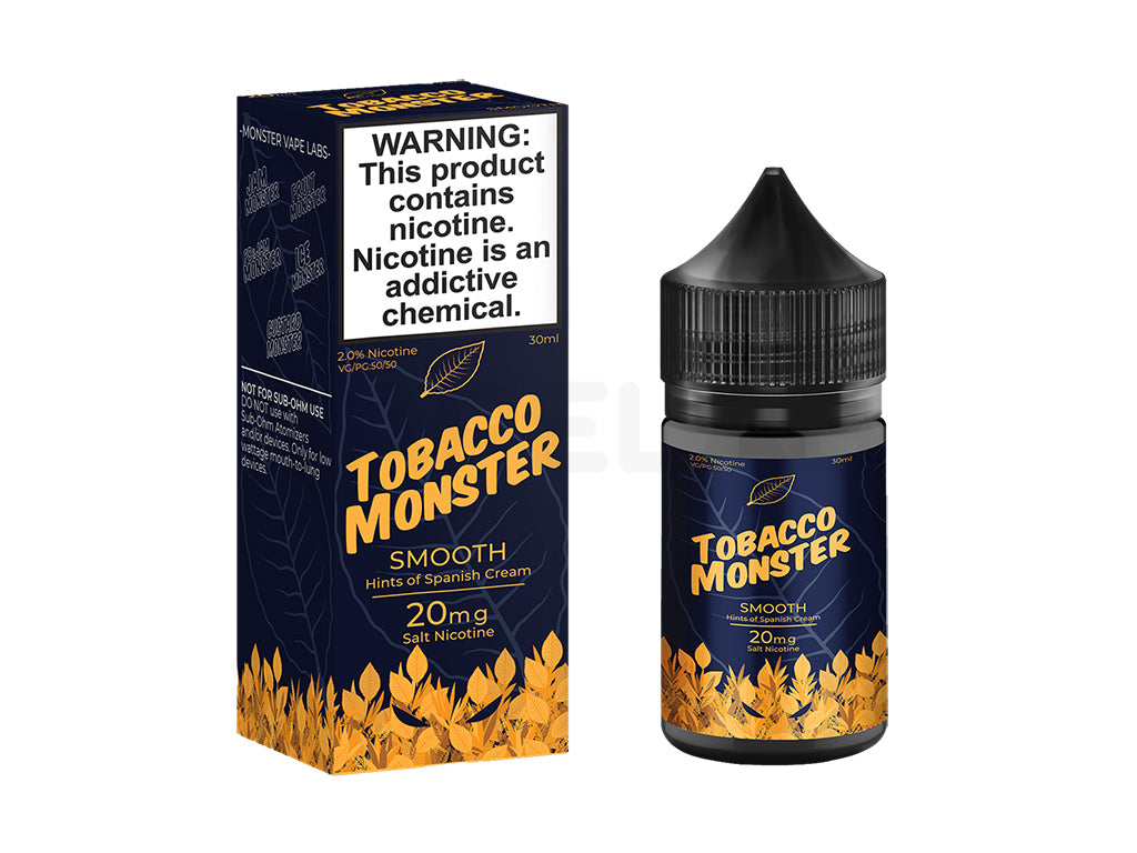 Tobacco Monster Salts - Smooth