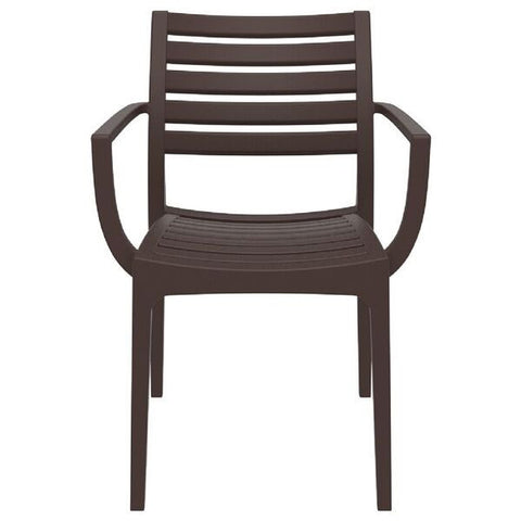 Compamia Artemis Resin Outdoor Arm Chair (Set of 4)