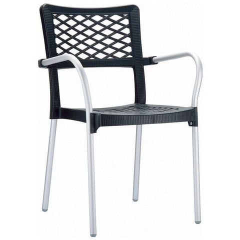 Compamia Bella Outdoor Dining Arm Chair (Set of 4)