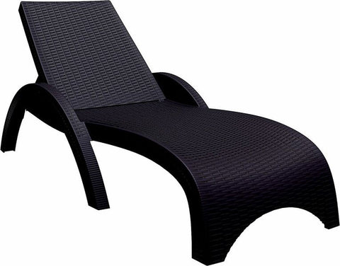Compamia Miami Resin Wickerlook Chaise Lounge (Set of 2)