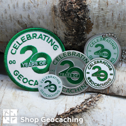 Celebrating 20 Years of Geocaching