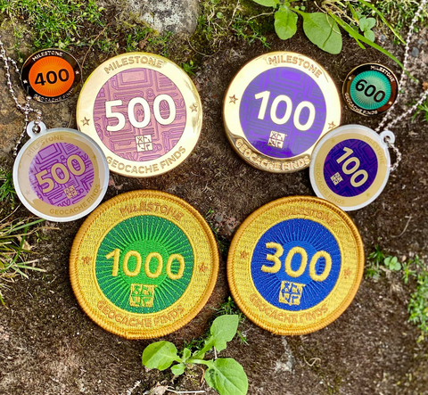 Shop Geocaching Challenges and Milestones