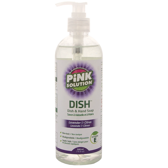 Dish and Hand Soap - LAVENDER & CITRUS - (Pack of 12 x 500ml)