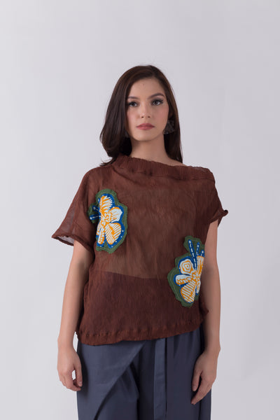 Mayang Top Brown