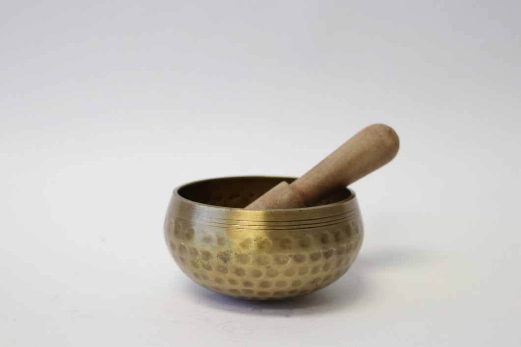 Tibetan Hand Hammered Singing Bowl Handcrafted from Nepal