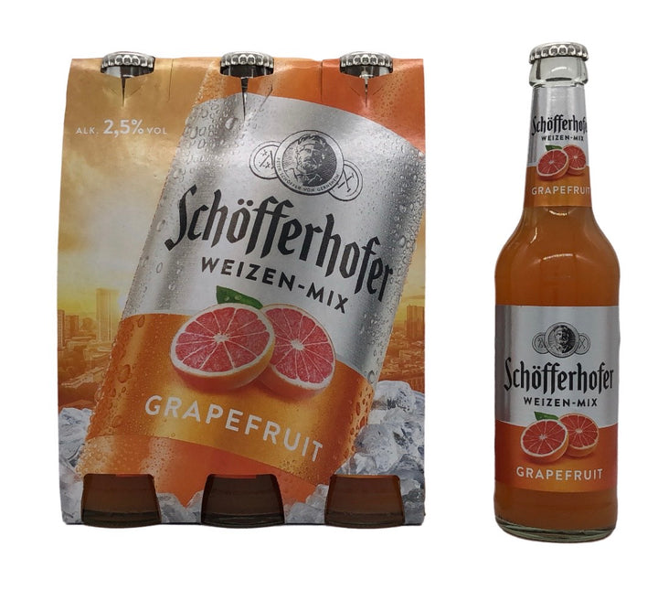 ShofferHoffer Weissbier-Grapefruit Mix. 0.33L - Bavaria Brau