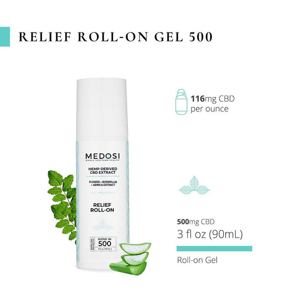 Relief Roll-On Gel 500