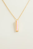 Vertical Stone Bar Necklace