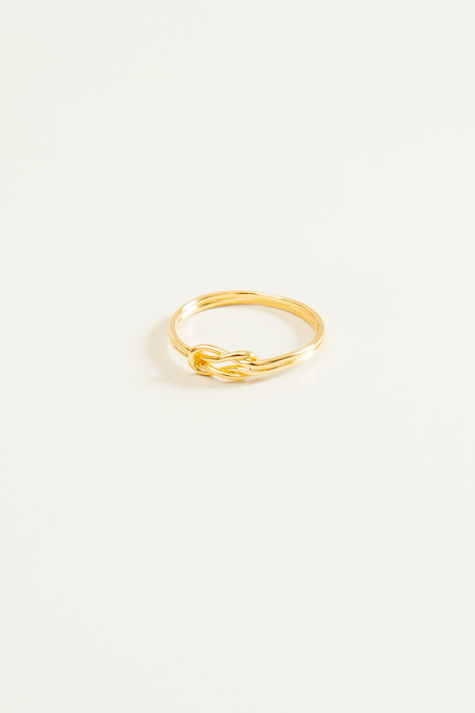 Addie Knotted Ring