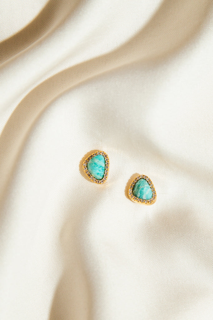 Olivia Gem Earrings