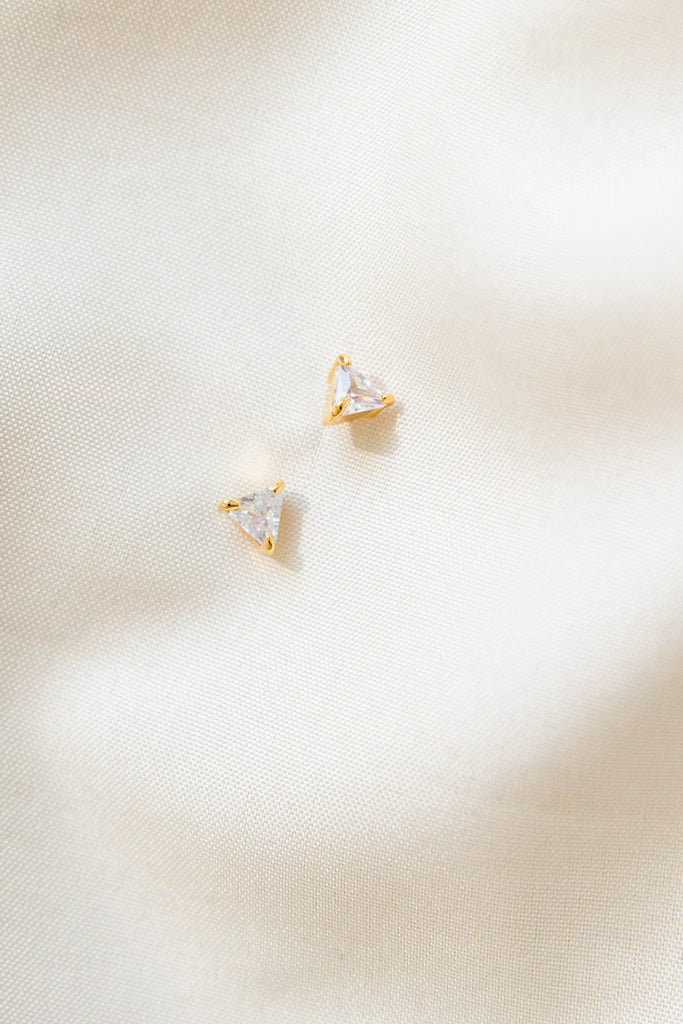Shelby Triangle Earrings