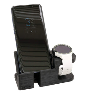 Artifex Design Stand Configured for TicWatch E / S Smartwatch Combo - Artifex Design 3D